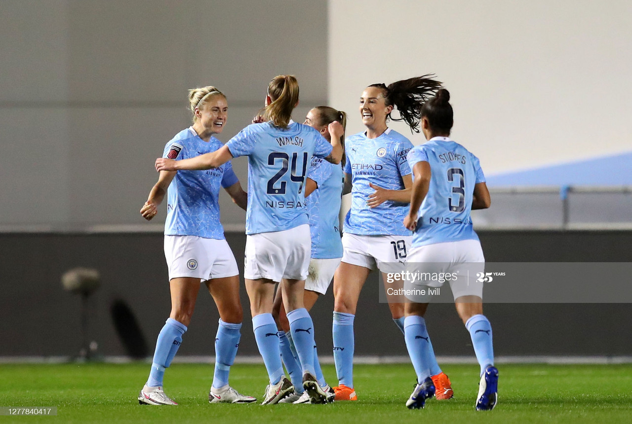 Manchester City Women 2-1 Arsenal: Blues progress to the FA Cup final