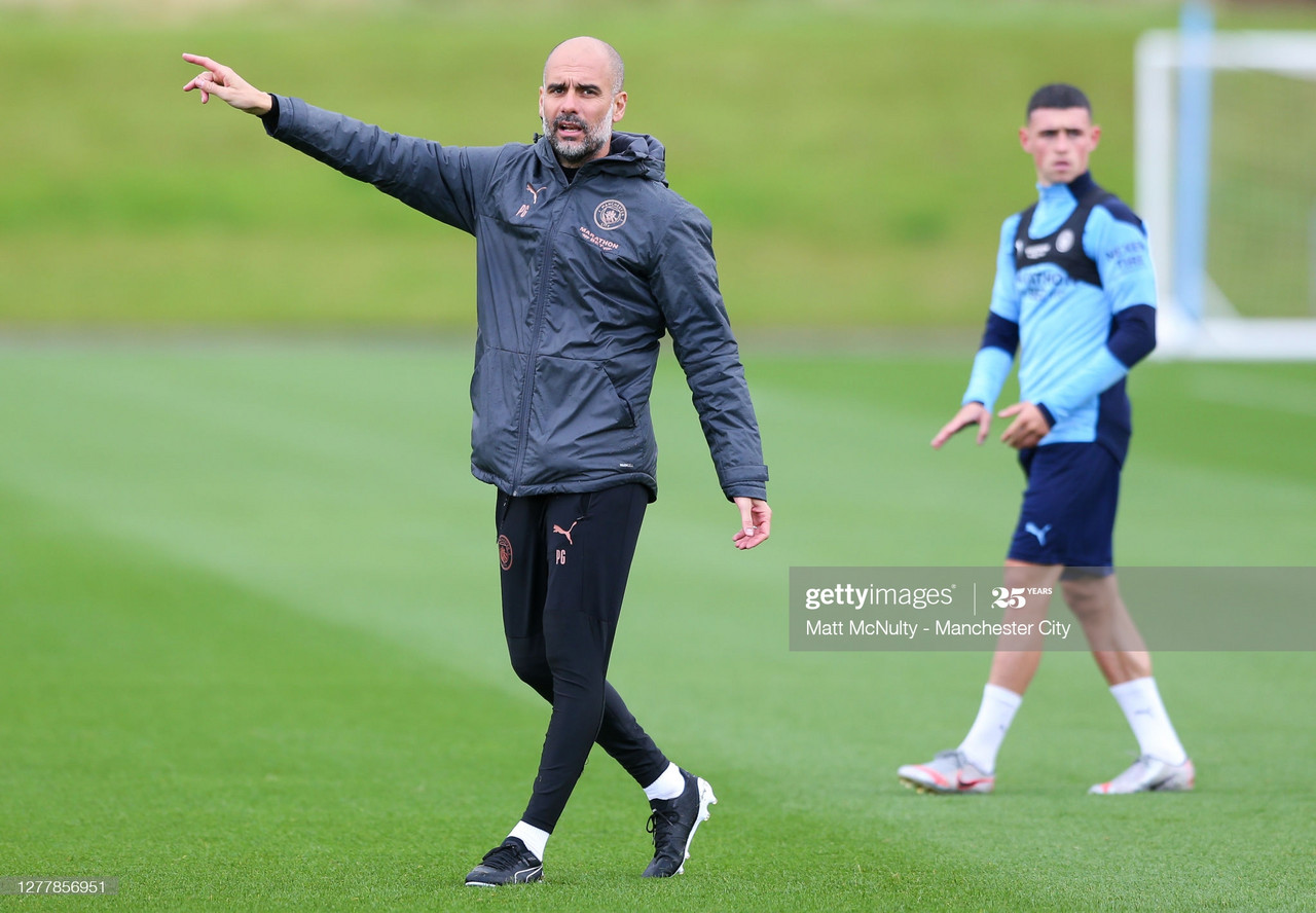Manchester City prepare for a tough trip to Marseille in the Champions League group stages | Matt McNulty/Getty Images