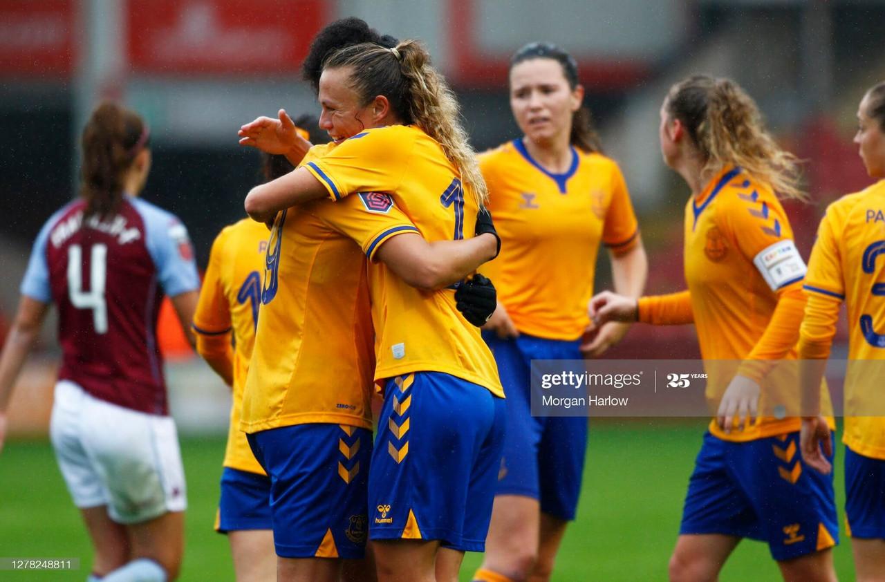 Aston Villa Women 0-6 Everton: Wake-up call for the Villans