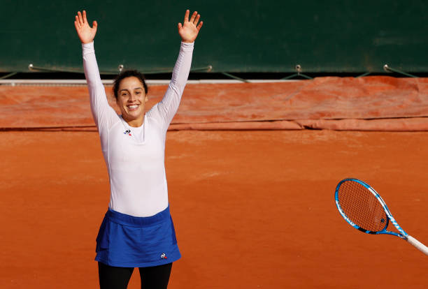 French Open: Martina Trevisan continues fairytale run with victory over Kiki Bertens