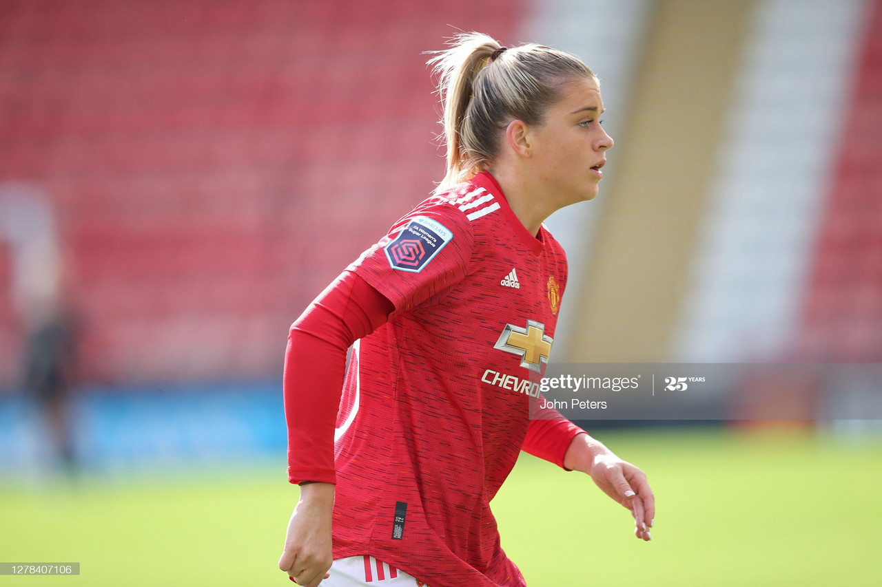 """""""I just want to win trophies with Manchester United"""" - Alessia Russo after Brighton victory"""