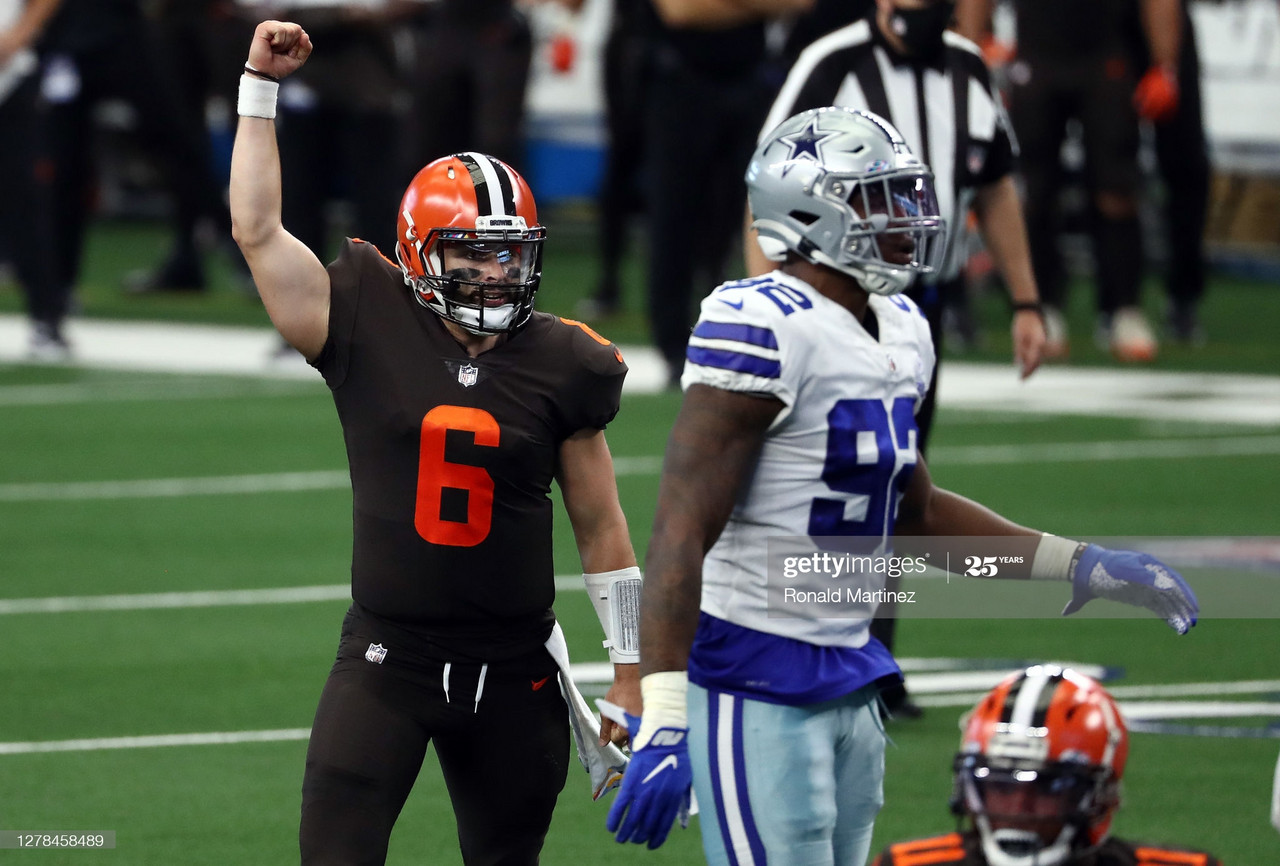 Cleveland Browns Win Shootout against the Dallas Cowboys 49-38