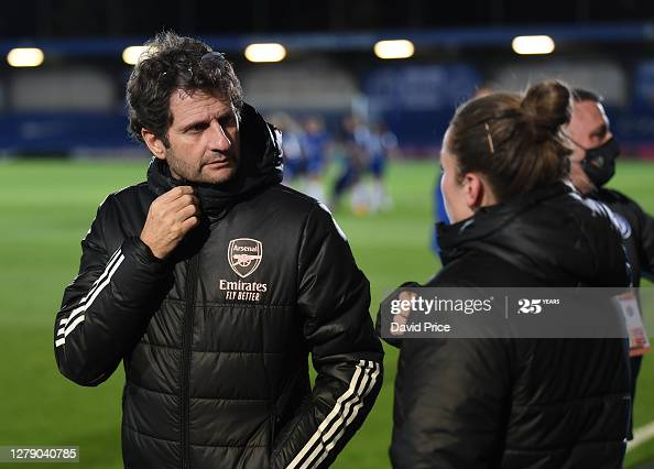 """They have the full package and they deserve to be at the top""- Joe Montemurro ahead of facing Manchester United in the FA WSL"
