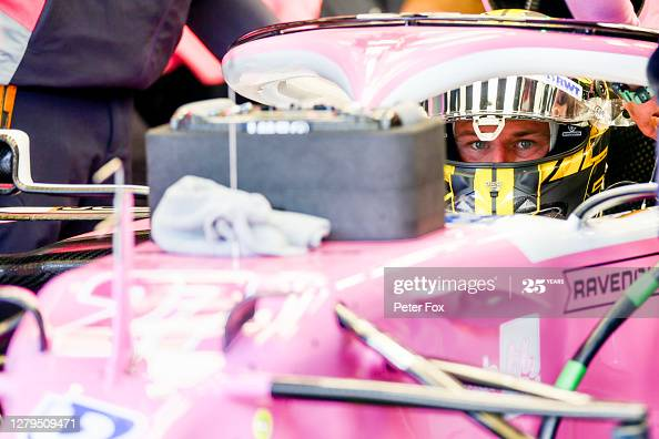 Nico Hulkenberg of Germany and Racing Point during qualifying ahead of the F1 Eifel Grand Prix at Nurburgring (Photo credit: Peter Fox, Getty Images)