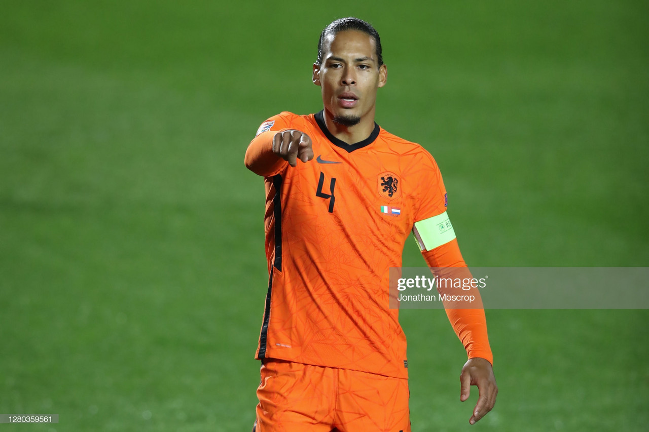 Esteemed and excellent, Van Dijk's absence is a blow for Oranje, but one the country can overcome in pursuit of an awaited return to the top
