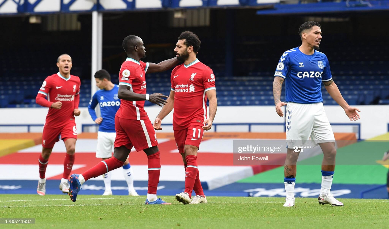 Everton 2-2 Liverpool: Liverpool end Everton's perfect start with dramatic derby draw