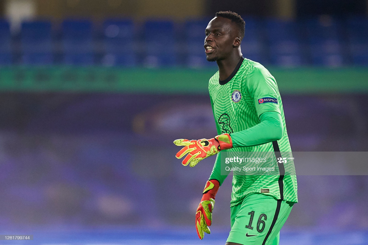 Eduoard Mendy will be looking to make it three consecutive clean sheets (Photo by Mateo Villalba/Quality Sport Images/Getty Images)