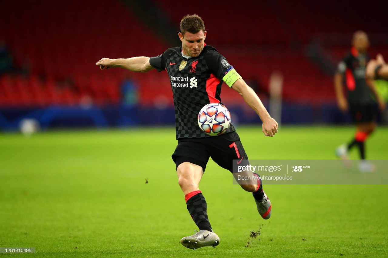 Milner hails Liverpool's ability to dig deep as Fabinho stars in Amsterdam