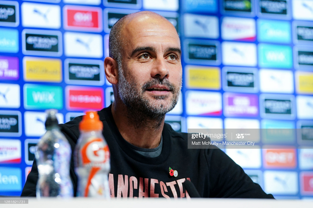 The key quotes from Pep Guardiola's pre-Liverpool press conference