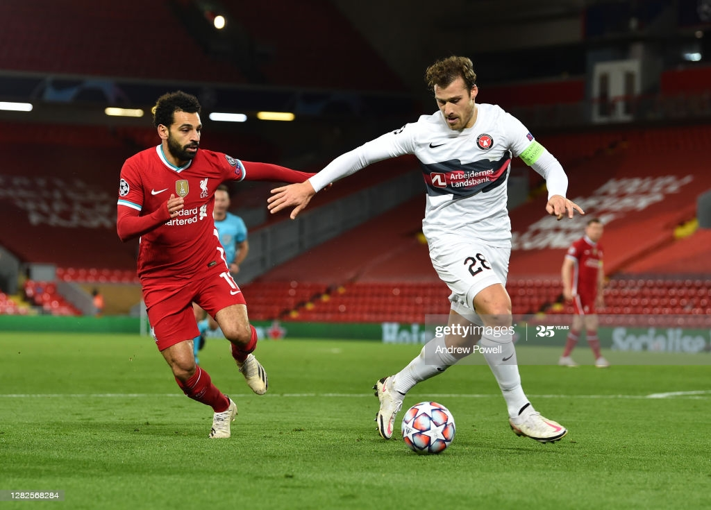 FC Midtjylland vs. Liverpool - Football Match Report