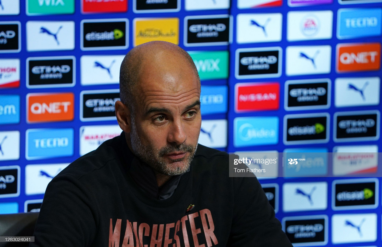 The key quotes from Pep Guardiola's pre-Tottenham Hotspur press conference