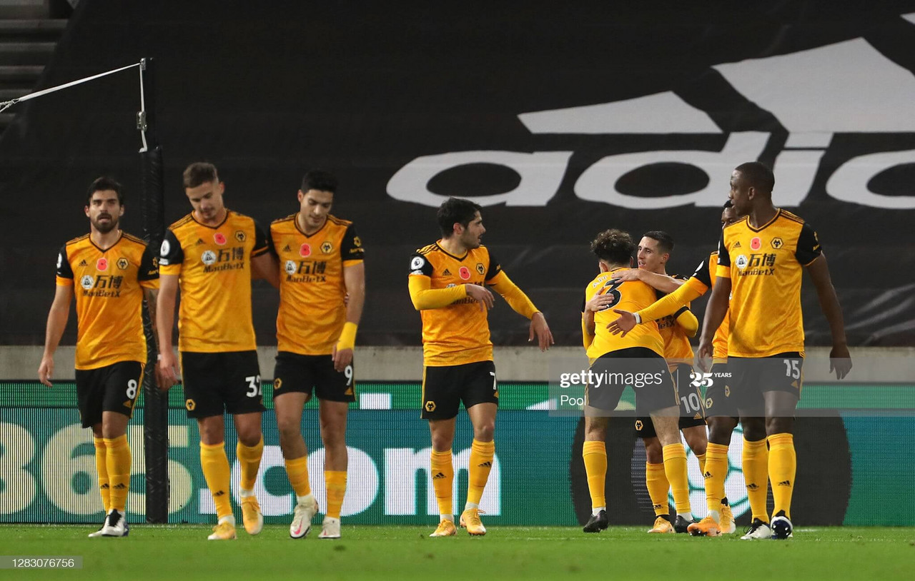 Wolverhampton Wanderers 2-0 Crystal Palace: Nuno's side ease to back to winning ways against 10-men Palace.