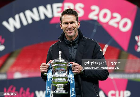 """""""We want to achieve big things and make history"""" - Gareth Taylor leads Manchester City to FA Cup trophy"""
