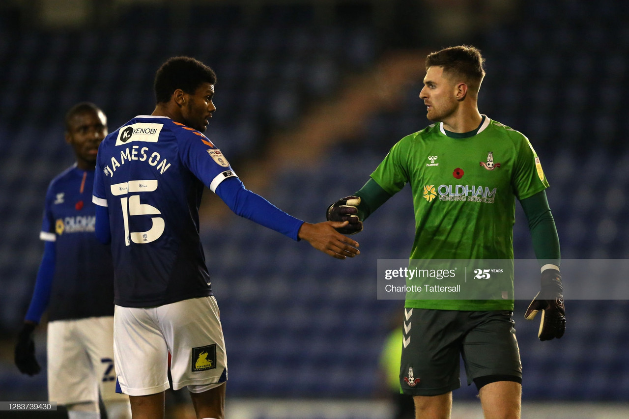 Oldham Athletic 2-1 Cheltenham Town: Late heroics from Clarke seals three points for the Latics