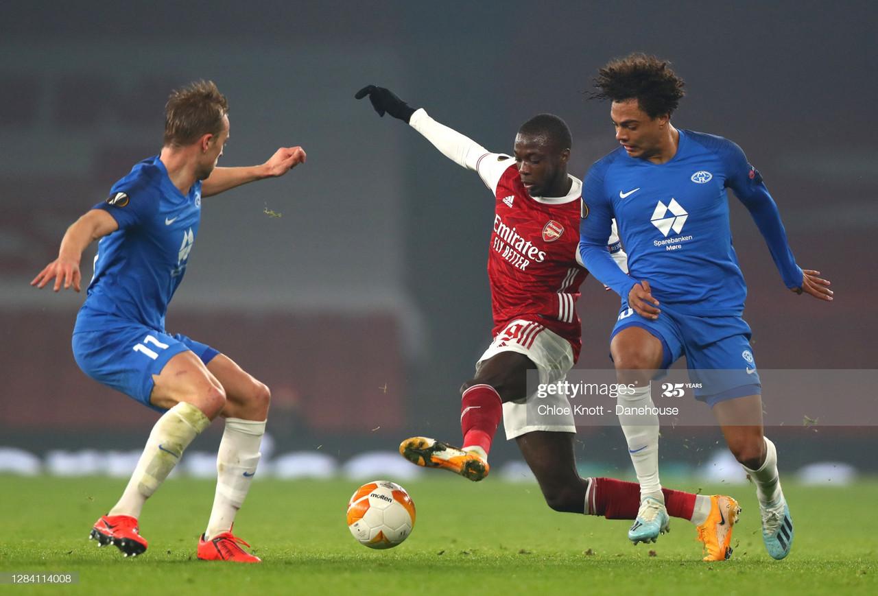 Arsenal 4-1 Molde: Player ratings