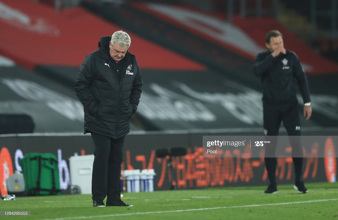 Southampton 2-0 Newcastle United: Terrible Toon suffer defeat