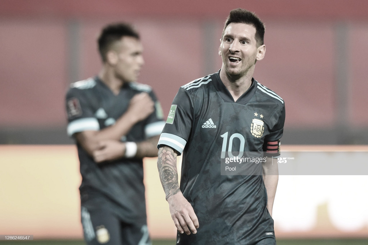 SIN PELOS EN LA LENGUA. Messi, se lo mostró furioso apenas arribado a Barcelona. Foto: Getty images