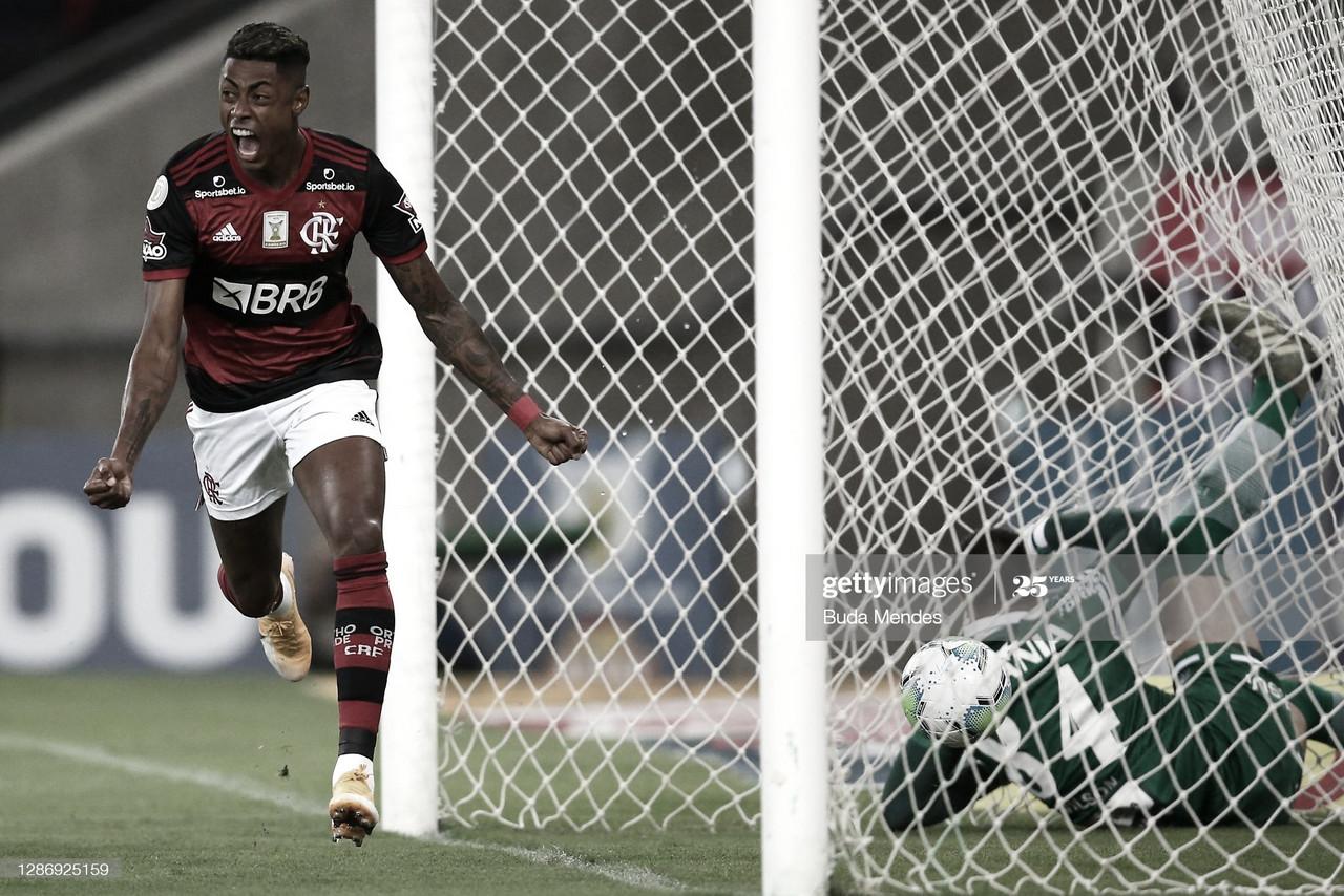 FIRME CANDIDATO. Flamengo busca defender el título del año pasado y sigue siendo candidato. Foto: Getty images