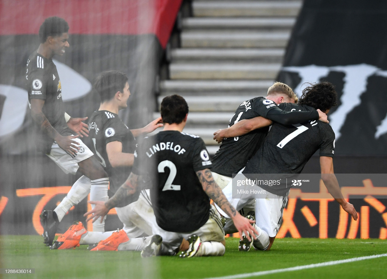 James Ward-Prowse scored Southampton's second with a now-trademark free-kick. (Getty Images)