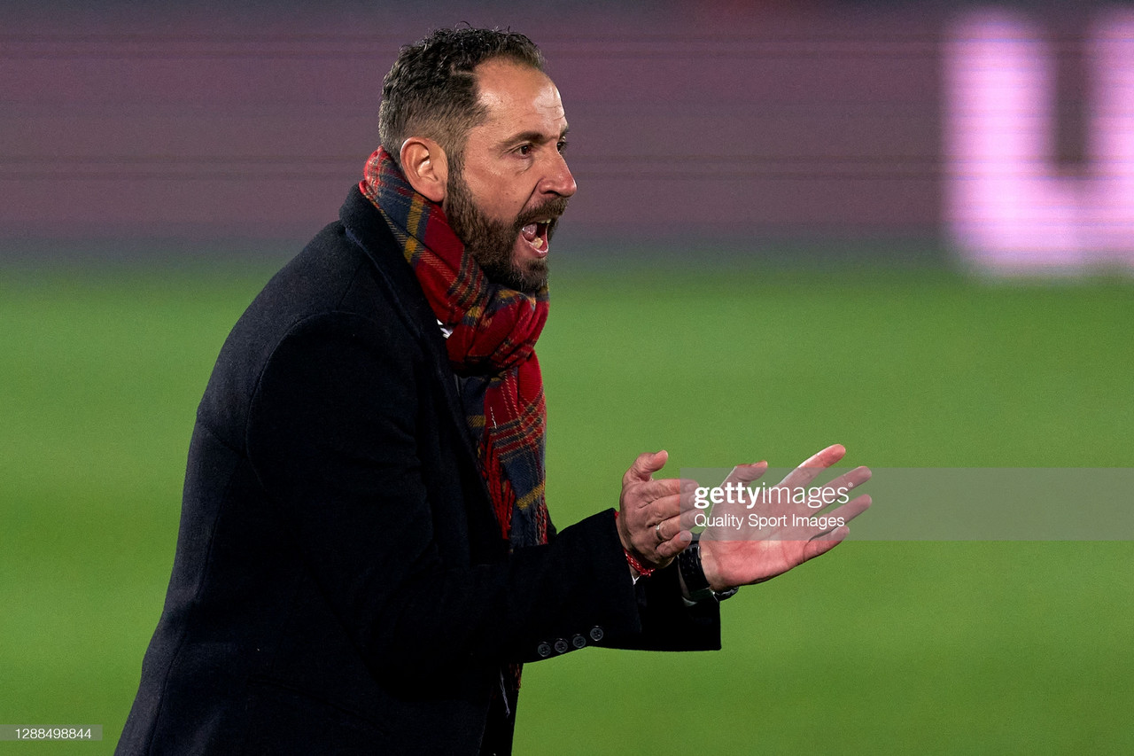 """Pablo Machín: """"Somos un equipo ambicioso, dejamos todo en el terreno de juego"""""""