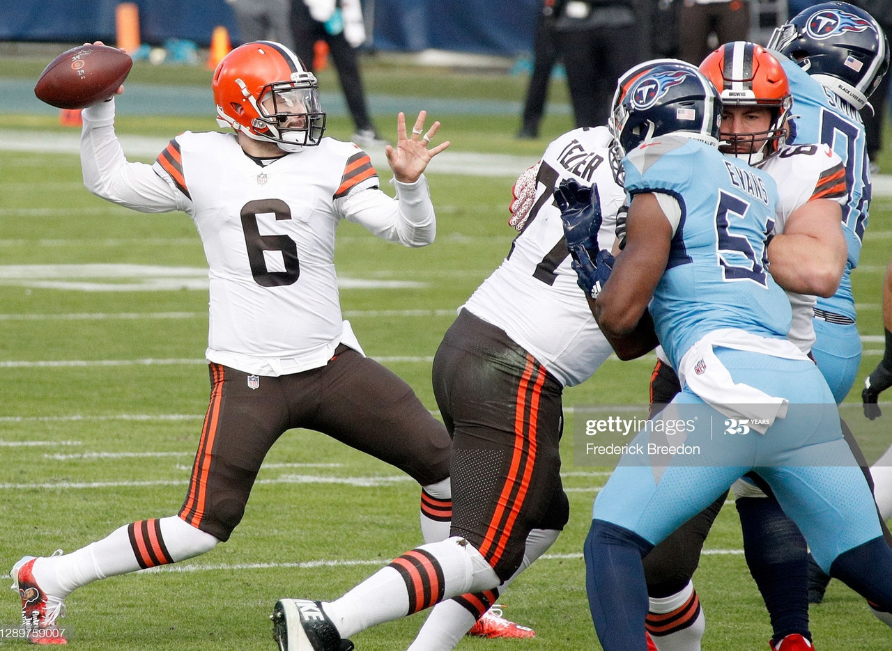 Mayfield stars as the Browns beat the Titans