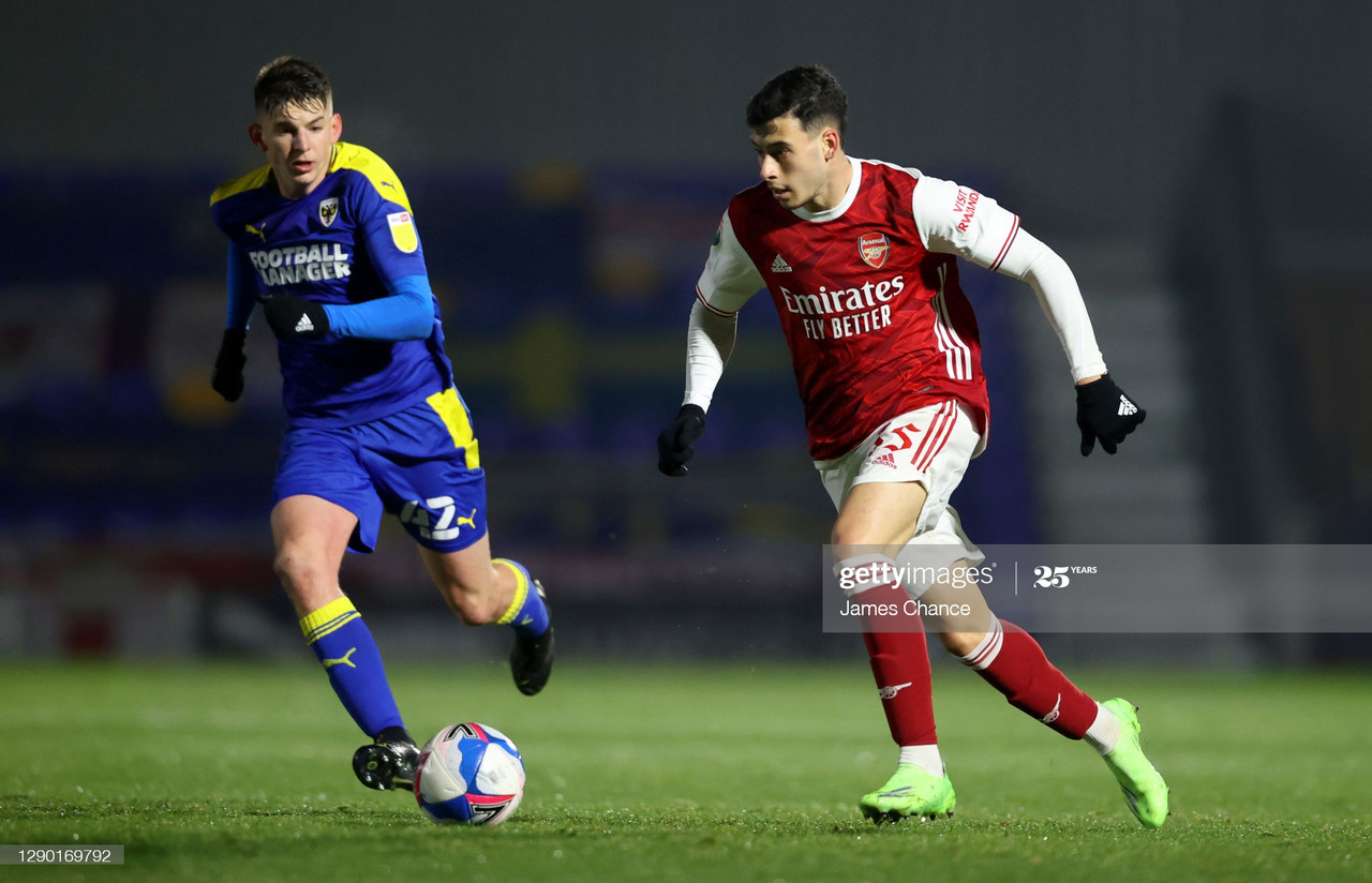 Saliba and Martinelli: The lowdown after appearing for Arsenal U21s at AFC Wimbledon