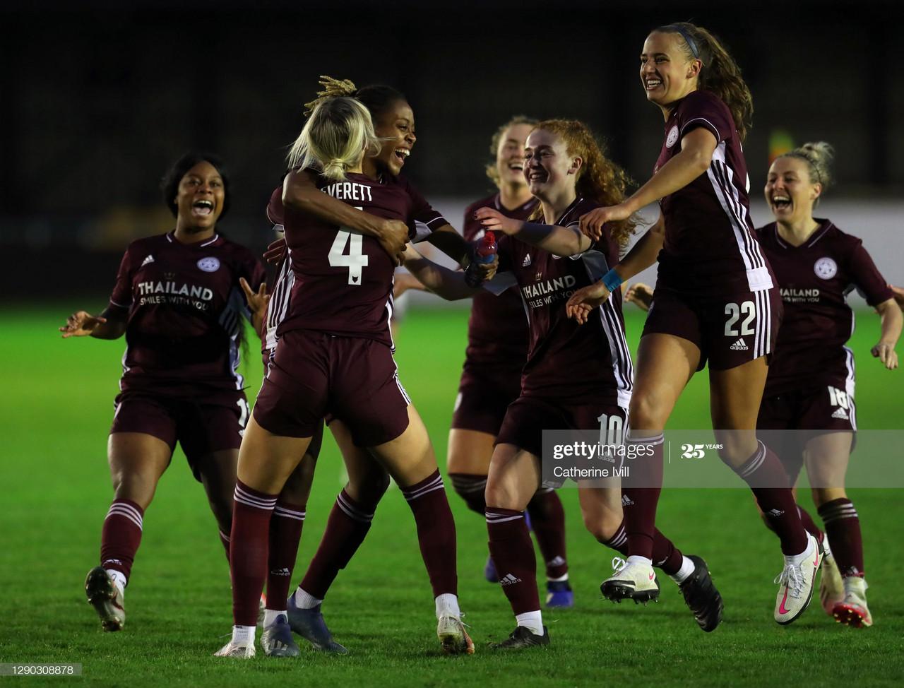 Birmingham City Women 0-0 Leicester City (5-6 on penalties): Fantastic Foxes alert the big guns