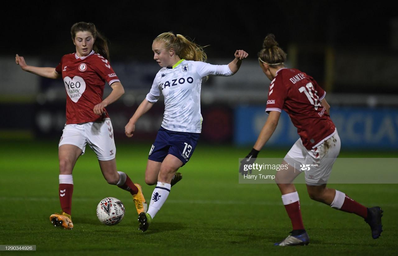 Bristol City Women 0-4 Aston Villa: Villa make their mark with crucial win
