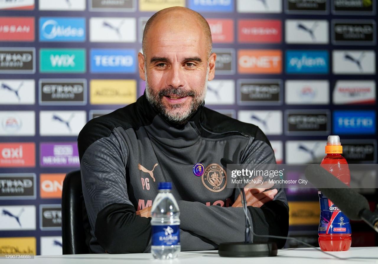 The key quotes from Pep Guardiola's pre-Aston Villa press conference