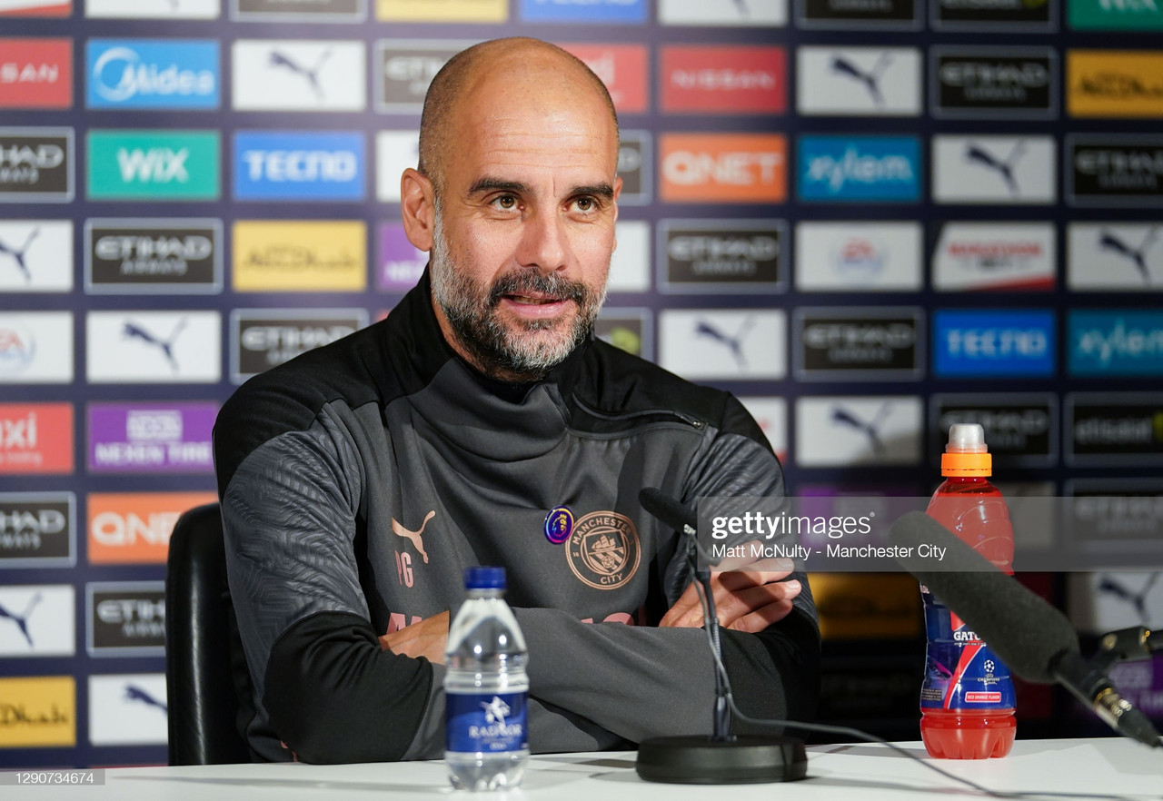 The key quotes from Pep Guardiola's press conference ahead of clash with Southampton