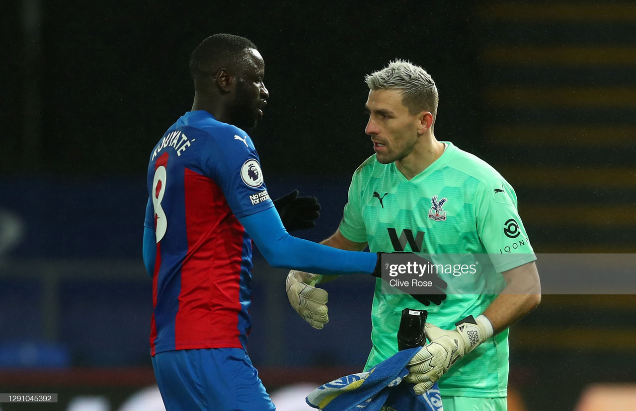 Crystal Palace 1-1 Tottenham Hotspur: Inspired Guaita performance earns Palace a point