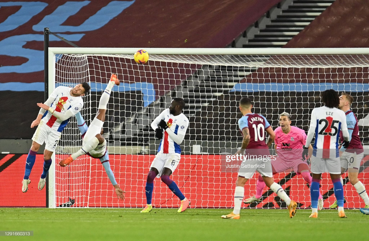 West Ham 1-1 Crystal Palace: Haller's moment of magic earns The Hammers a point in heated London derby