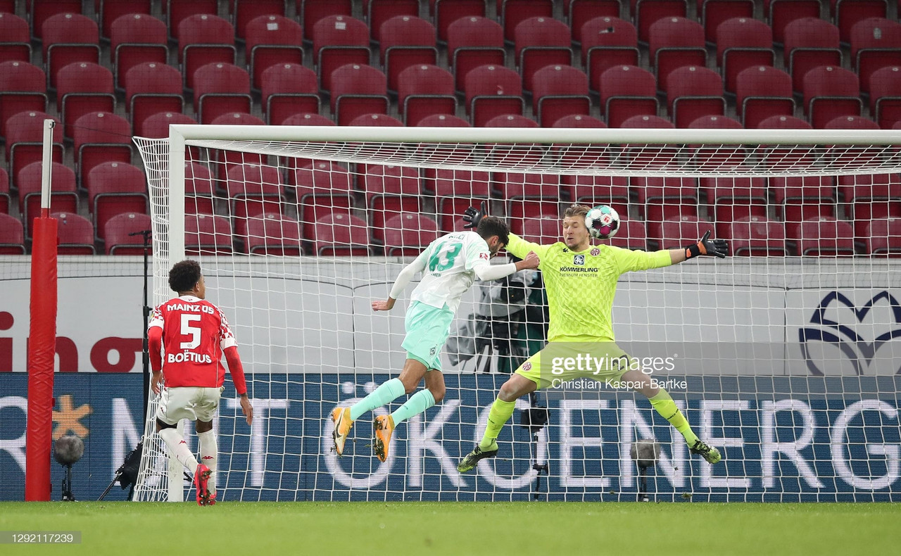 Mainz 0-1 Werder Bremen: Dinkçi the unexpected hero as Bremen pick up a huge win