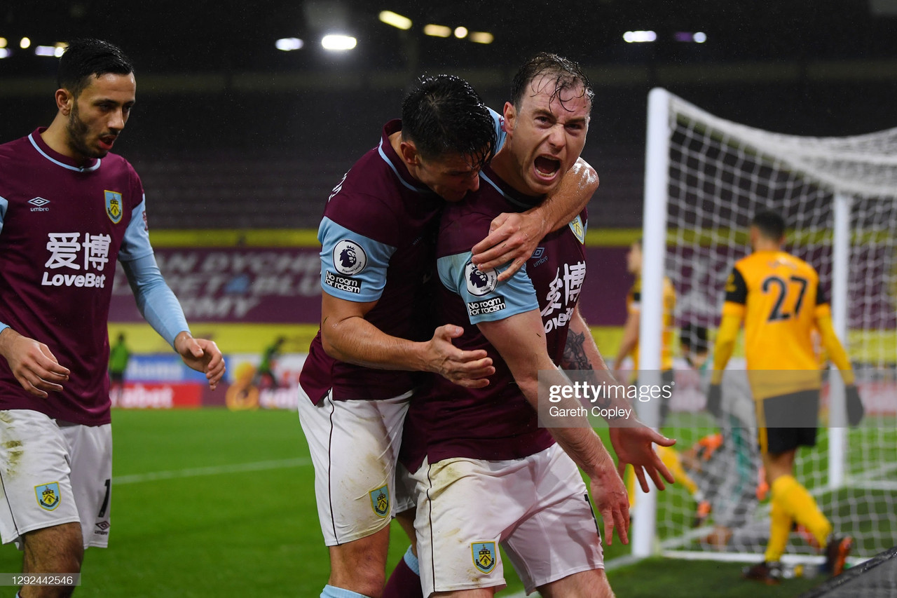 Burnley 2-1 Wolverhampton Wanderers: Clarets climb out of the bottom three