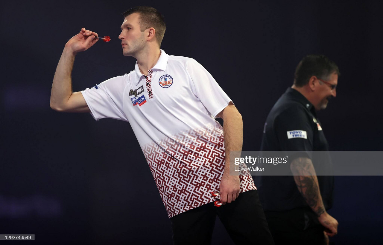 """Darts: """"I think I've made a good start to 2021"""", exclusive interview with Madars Razma"""