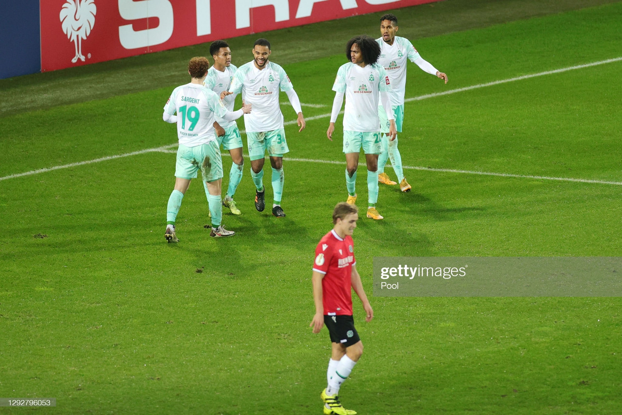 Hannover 96 0-3 Werder Bremen: The Green-Whites advance in the DFB Pokal