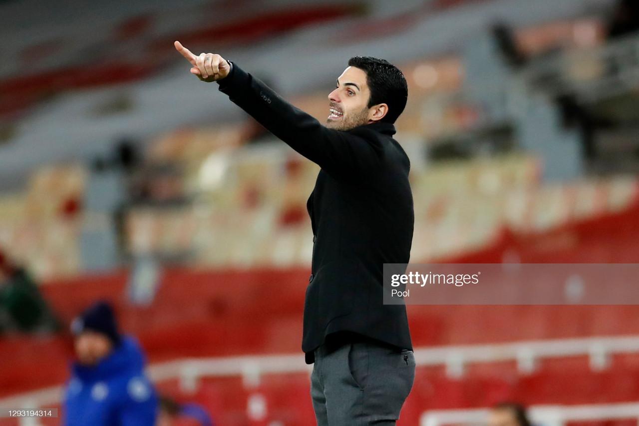 Mikel Arteta's key quotes on the January transfer window.