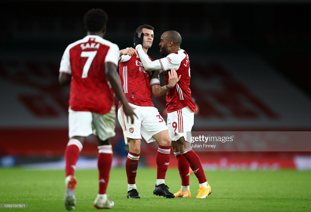 Arsenal 3-1 Chelsea: Laca, Xhaka and Saka end winless run