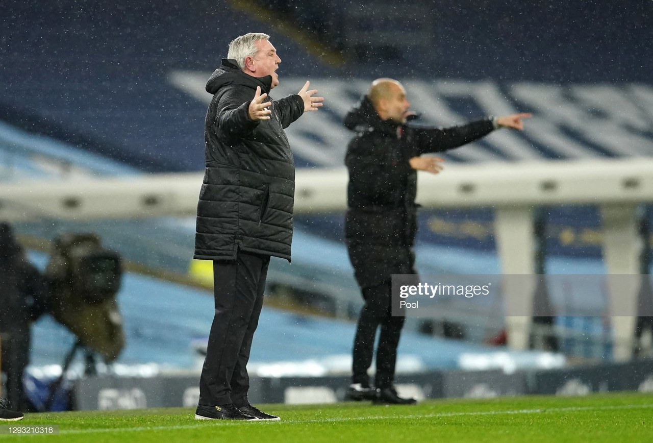 The five key quotes from Steve Bruce's post-Manchester City press conference