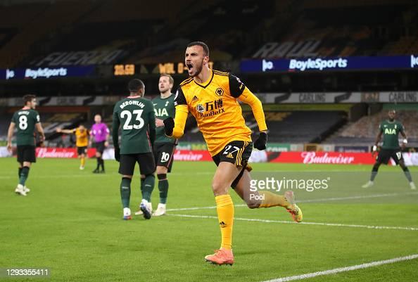 Wolverhampton Wanderers 1 - 1 Tottenham Hotspur: Player ratings