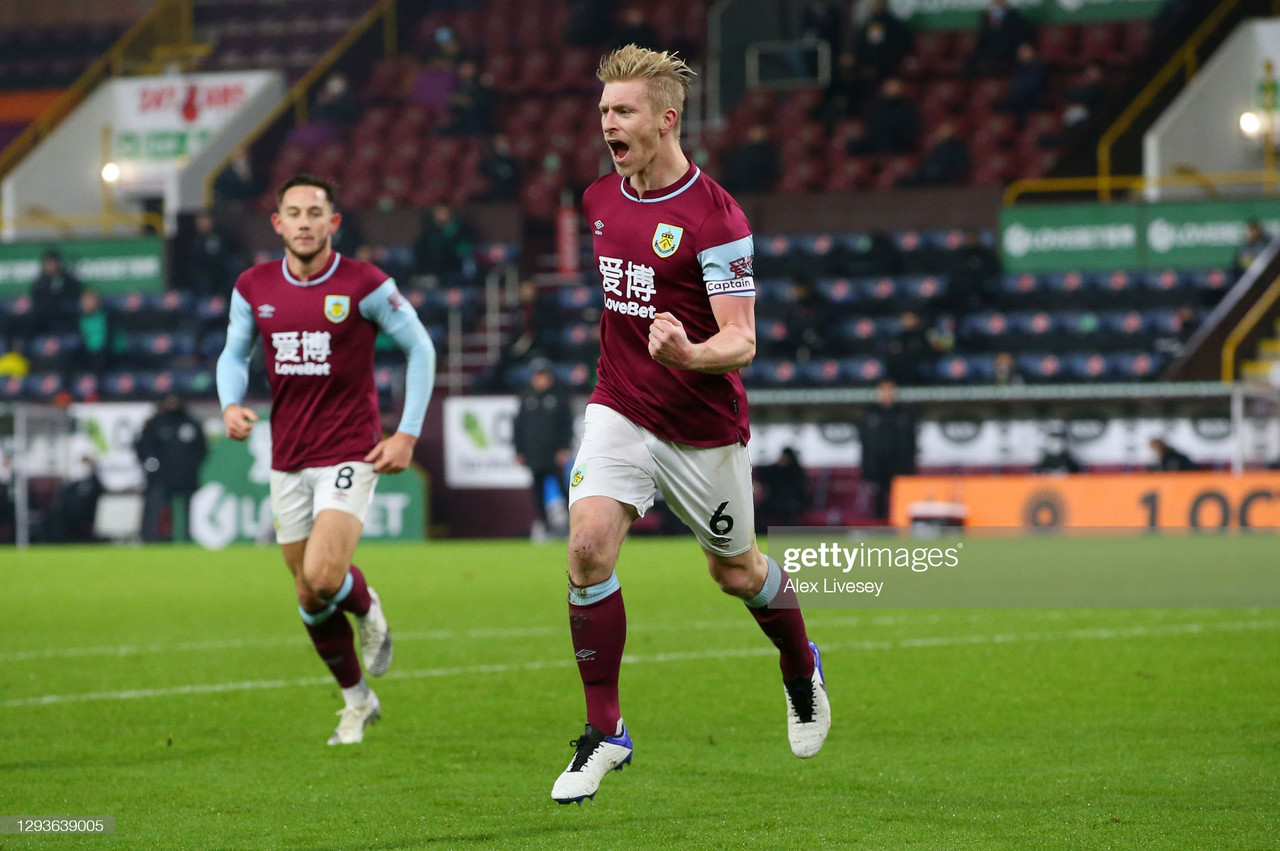 Burnley 1-0 Sheffield United: Mee header continues Clarets revival
