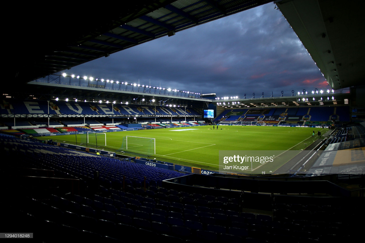 Goodison Park  /  Photo by Jan Kruger/Getty Images