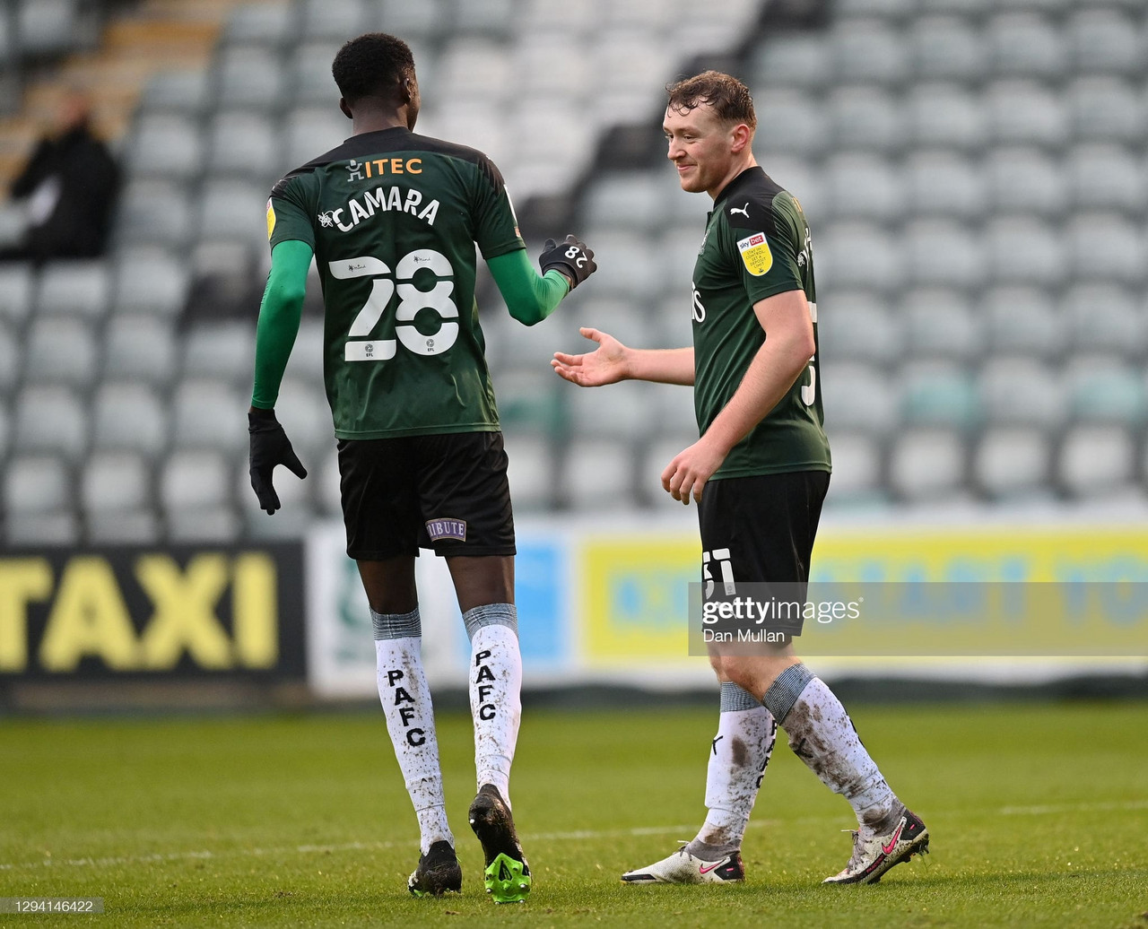 Plymouth Argyle 2-2 Accrington Stanley: Pilgrims pull it back