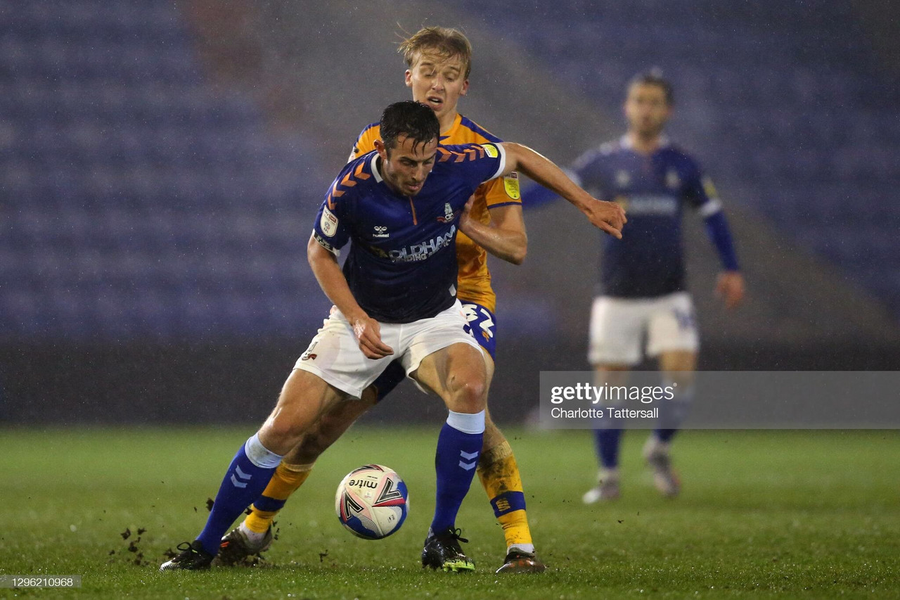 Oldham Athletic 2-3 Mansfield Town: Latics on the losing end yet again at Boundary Park