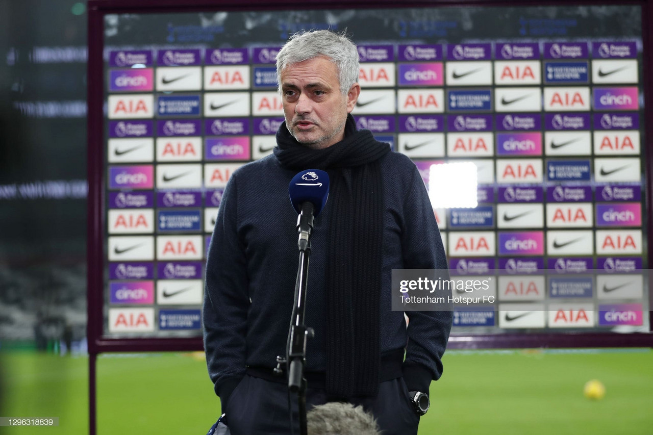 The key quotes from Jose Mourinho's pre-Wycombe Wanderers press conference