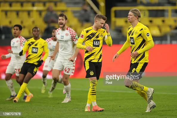 Borussia Dortmund 1-1 Mainz 05: Black and Yellows miss chance to go third