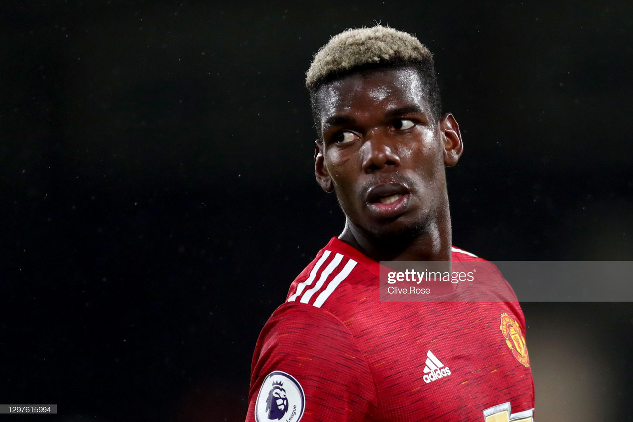 Paul Pogba is carrying Manchester United to their first title race in over 7 years