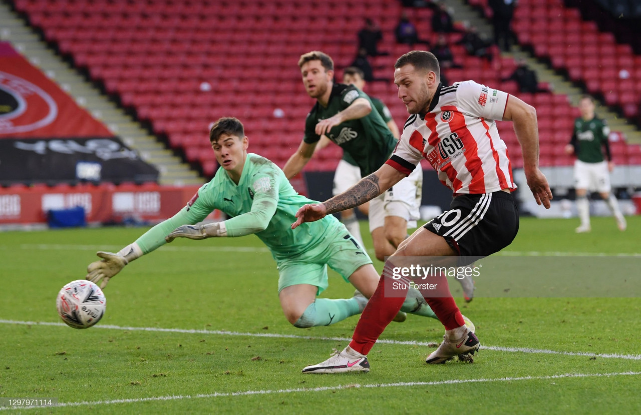 Sheffield United 2-1 Plymouth Argyle: Blades edge past Greens to reach fifth round