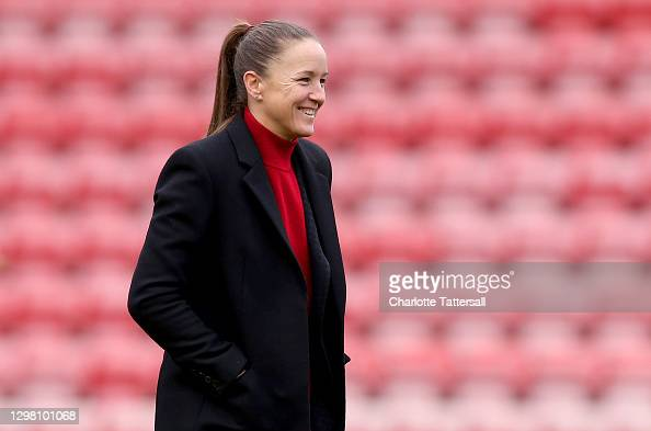 """""""It will be a very difficult game for us."""" - Casey Stoney ahead of facing Everton in the Women's Super League"""