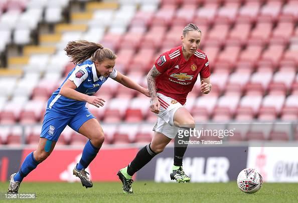 Manchester United Women 2-0 Birmingham City Women: Patient United breakdown stubborn Blues